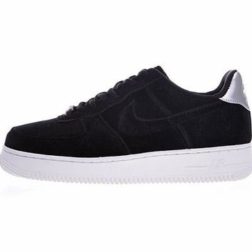 Nike Air Force 1 '07 Low Velvet ¡°Black&Sliver¡±896185-003