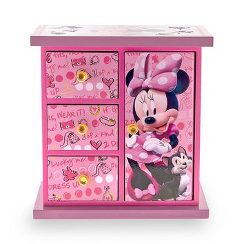 Disney Minnie Mouse Jewelry Box (Pink)