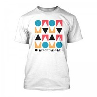 Of Monsters and Men  Official Store Stacked Logo Tee