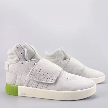 Adidas Tubular Invader Strap Fashion Casual High-Top Old Skool Shoes-12