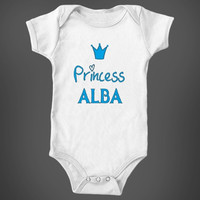 Frozen Princess Alba Baby Girl Name