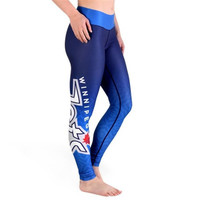 Winnipeg Jets Womens Official NHL Gradient Print Leggings