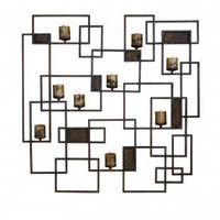 Uttermost Siam Candle Light Wall Sculpture - 20850 - Candles & Holders - Decorative Accents - Decor