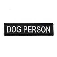 Dog Person Patch