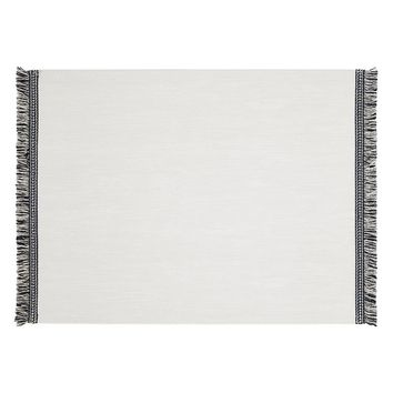 Fringe Placemats in White - Set of 4