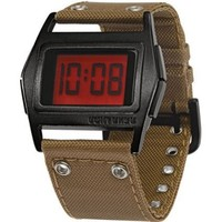 Converse Unisex VR005280 Lowboy Thin Khaki Aluminum Digital Watch - designer shoes, handbags, jewelry, watches, and fashion accessories | endless.com