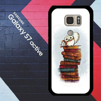 Hedwig Harry Potter Owl X4756 Samsung Galaxy S7 Active Case