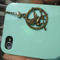 Dust Proof Plug-3.5mm hunger games ,Dust For iphone 4s,iPhone 4,iPhone 3gs,iphone 5,iPod Touch 4,HTC,Nokai,Samsung,Sony