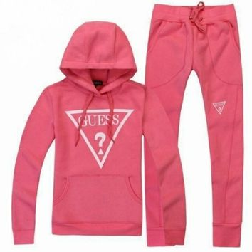 GUESS pink tracksuit by Luxury store