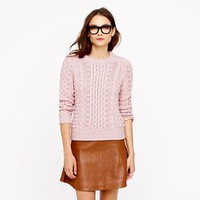 Collection handknit popcorn sweater - Pullover - Women's sweaters - J.Crew