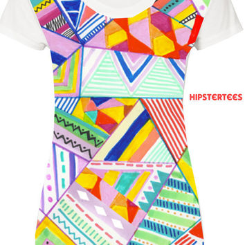 Tribal T Shirt- Hipster  Tribal Shirts
