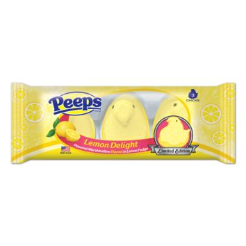 PEEPS & COMPANY Online Candy Store: Shop Now : PEEPS LEMON DELIGHT MARSHMALLOW CHICKS