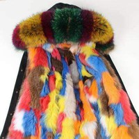 GGotta's 100% real furs s-xxxl Fur Coat