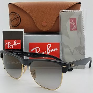 65a7a70d7f NEW Rayban Large Clubmaster sunglasses RB4175 877 M3 57mm Black