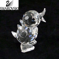 Swarovski Silver Crystal Figurine MINI DRAKE #7660 NR 40 Retired