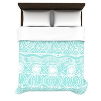 "Catherine Holcombe ""Beach Blanket Bingo"" Woven Duvet Cover"