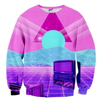 Vaporwave TV Sweater