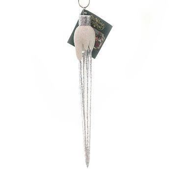 Old World Christmas Sparkling Icicle Glass Ornament