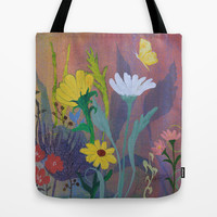 Summer Butterfly Tote Bag by Robin Maria Pedrero