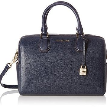 Michael Kors Women's Mercer Medium Leather Duffel Bag
