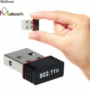 FLOWER Mini PC WiFi Adapter 150Mbps USB 2.0 Wifi Usb Network Adapter Wireless Network Networking Card 802.11 b/g/n wi-fi adapter