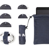 Leather Cord Suite, Navy, Other Lifestyle Accessories
