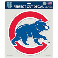 MLB Chicago Cubs 8-by-8 Inch Diecut Colored Decal