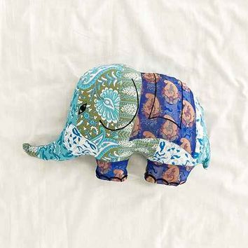Sari Elephant Pillow