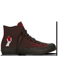 Converse - Chuck Taylor Green Day - Hi - Black/Red