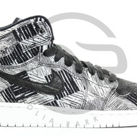 QIYIF AIR JORDAN RETRO 1 HIGH BHM GG (GS) - BLACK HISTORY MONTH