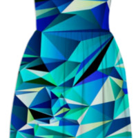 Green+Navy No.1 created by House of Jennifer | Print All Over Me