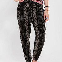 Urban Outfitters - Ecote Curved Yoke Harem Pant