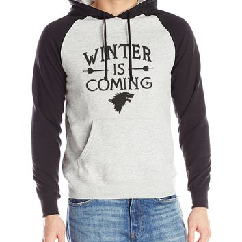 Game of Thrones 'Winter Is Coming' Hooded Sweater