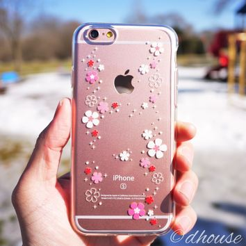 MADE IN JAPAN Soft Clear iPhone 6/6s Case - Cherry Blossoms