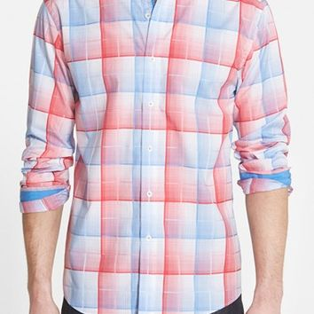 Men's Bugatchi Shaped Fit Sport Shirt