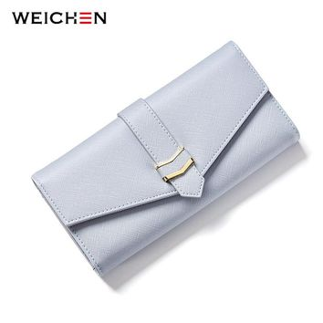 2017 New Design Envelope Clutch Wallet For Women, Geometric Hasp Ladies Long Wallets Phone Purse Female Lady Card Photo Holder