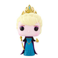 Frozen Disney Movie Figure Vinyl Model Collection - Crowned Elsa