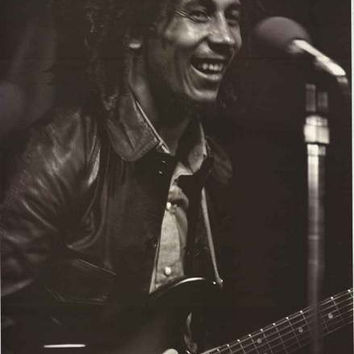 Bob Marley Smiling Portrait Poster 24x36