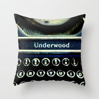 Underwood Throw Pillow by Ann B. | Society6