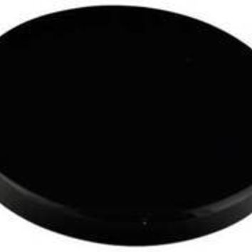 "2"" Black Obsidian scrying mirror"