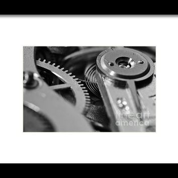 The Heart Of A Watch 3 Framed Print