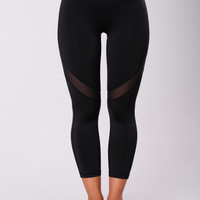 Strip Pants - Black