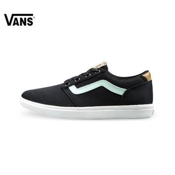 VONEO5 Trendsetter Vans Rose Embroidery Canvas Old Skool Flats Sneakers Sport Shoes