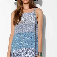 Somedays Lovin Dune Driver Tank Dress- Purple Multi
