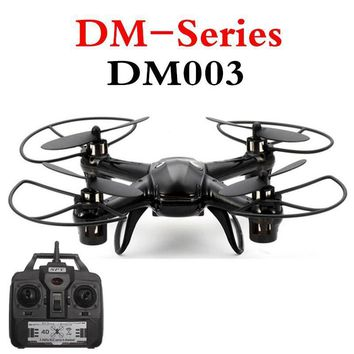 Real-Time DM003 Mini Drone 2.4G 4CH 6 Axis With WIFI 0.3MP HD Camera Headless Mode 3D Roll RC Quadcopter Toys RTF Mode 2