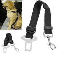1pcs Adjustable Pet Cat Dog Car Safety Belt Collars Pet Restraint Lead Leash travel Clip Car Safety Harness