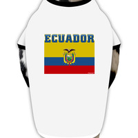 Ecuador Flag Dog Shirt