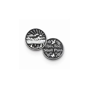 This Too Shall Pass Memorial Token - Perfect Religious Gift