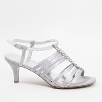 Silver Shoes, Silver Sandals, Silver Bridesmaid Shoes, silvershoe-200-26