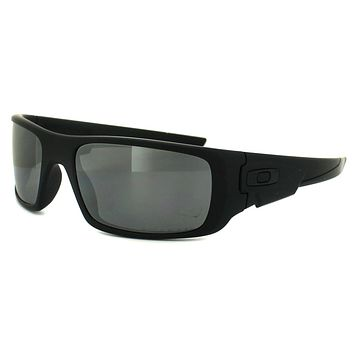 Oakley Sunglasses Crankshaft OO9239-06 Matt Black Black Iridium Polarized